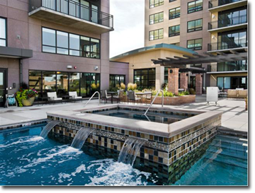 Denver Condos For Sale - Pool Deck